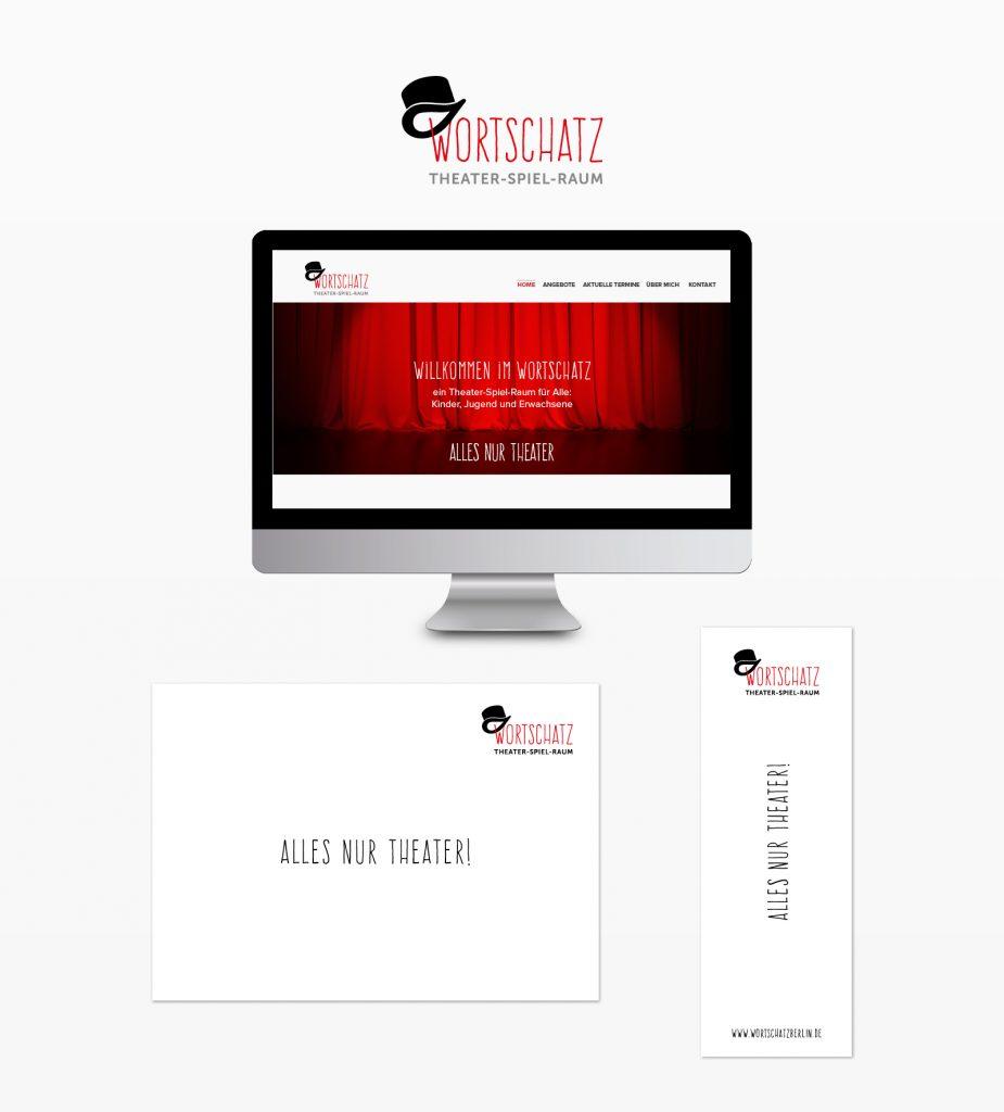 Webdesign Theater Wortschatz