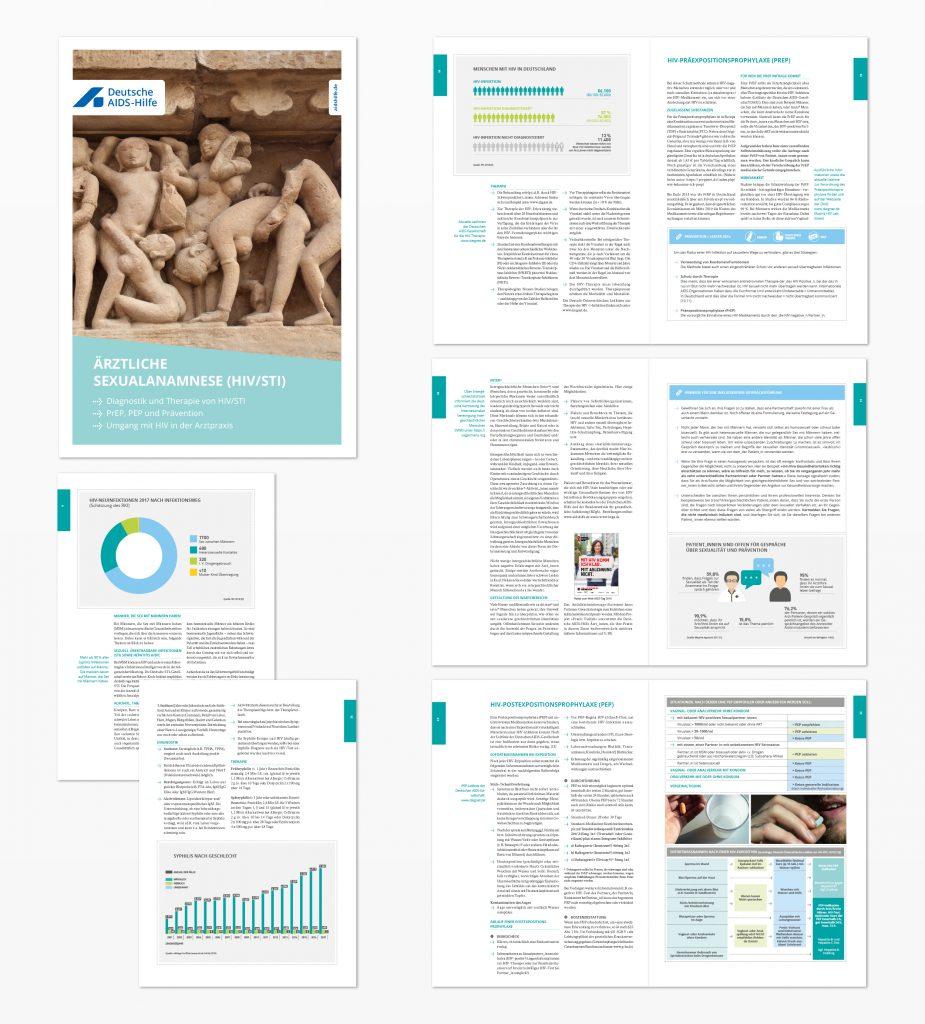 Broschüre Deutsche Aidshilfe