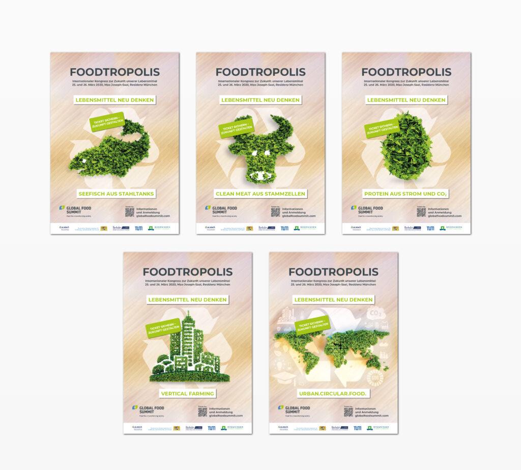 Plakatkampagne Global Food Summit